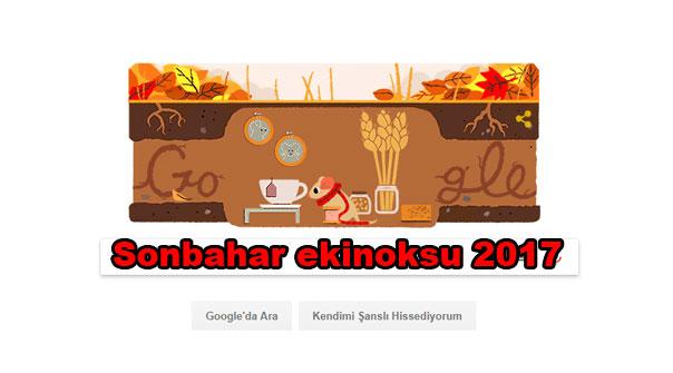 Sonbahar ekinoksu nedir? Sonbahar ekinoksu 2017 Google tarafından doodle oldu