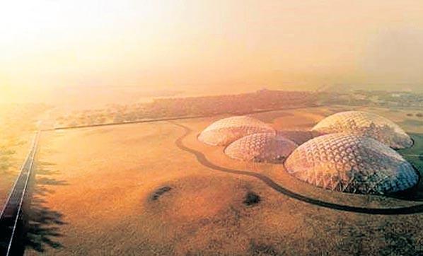 Birleşik Arap Emirlikleri Mars'ta Kent Kuracak