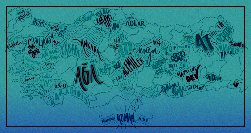 """Şehirlerimizi Hangi Roman Temsil Ediyor? – """"Türkiye Roman Haritası"""""""