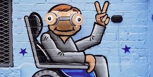 Sokakları sanatla güzelleştiren Tom Bob'un yaratıcı çalışmaları